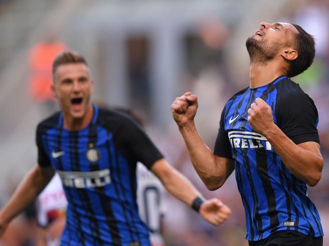 Inter-Genoa 1-0, pagelle nerazzurre: D'Ambrosio pesante, Candreva fischiato