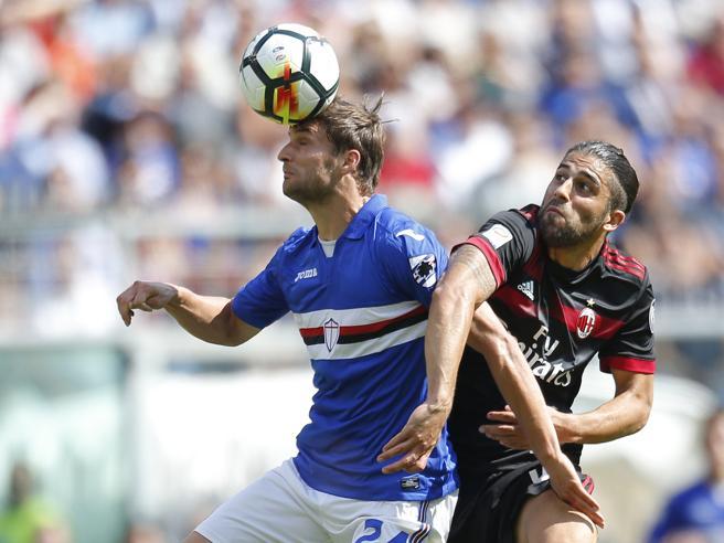 Sampdoria-Milan 2-0, le pagelle rossonere: Rodriguez il meno peggio, Kessie scomparso