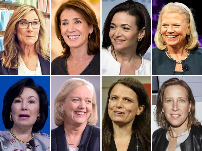 Valgono 1,1 trilioni di dollariEcco  le 30 donne più potenti nel mondo (9 sono hi tech)
