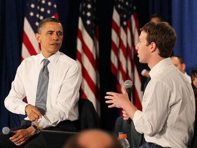 Obama avvertì Zuckerberg: «Facebook  a rischio per il voto»