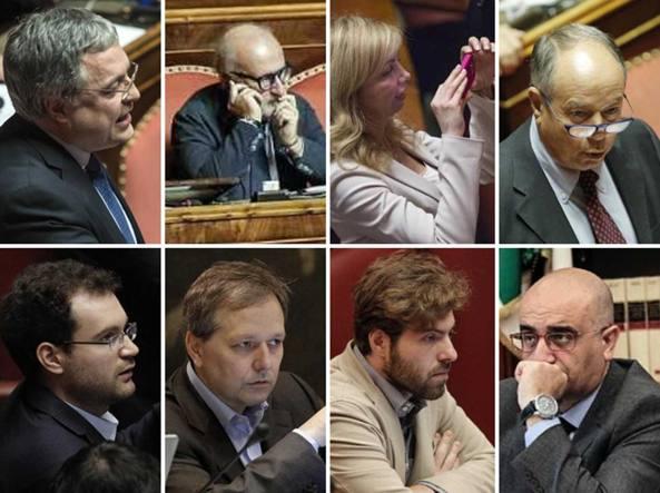Parlamentari voltagabbana deputati e senatori cambio for Senatori e deputati