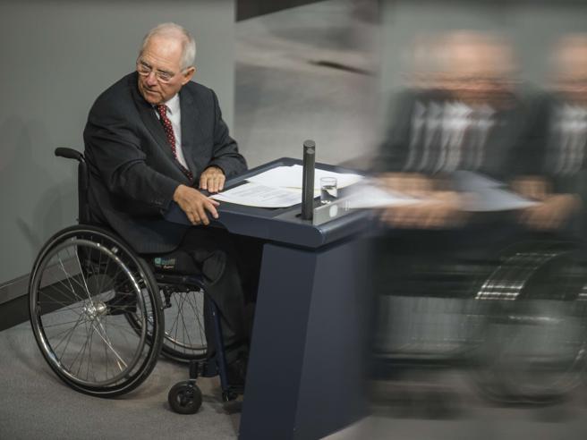 Schauble non sarà più ministro delle Finanze tedesco