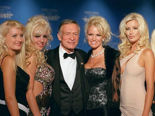 Addio Hefner, fondatore di Playboy