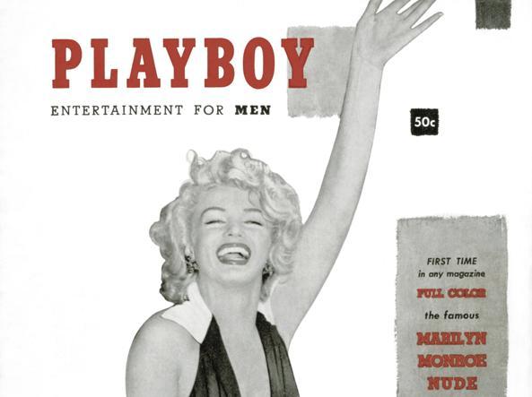 La copertina del primo Playboy, uscito nel 1953