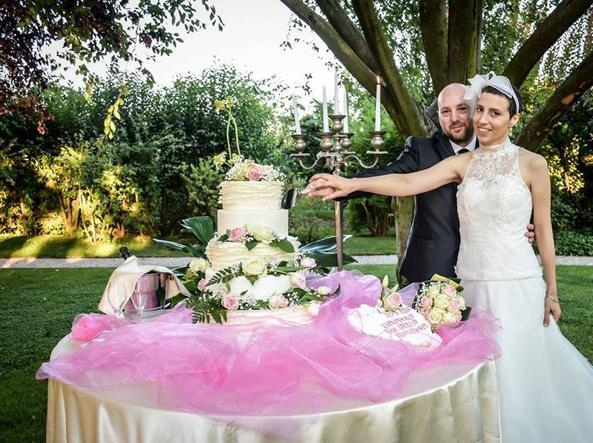 Elisa il giorno del suo matrimonio