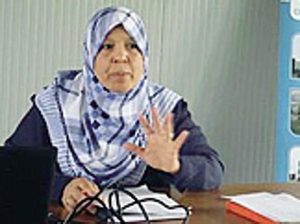 Yamina Salah è la presidente delle donne musulmane d'Italia