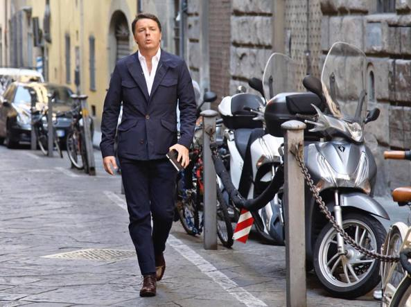 Conferenza Renzi in inglese alla Stanford University a Firenze
