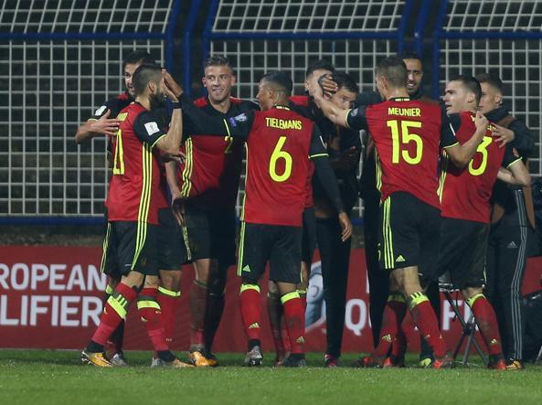 Se la Bosnia non batte il Belgio Italia qualificata agli spareggi