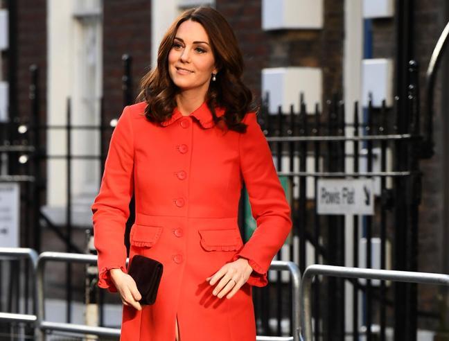Uscite e sorrisi, la gravidanza  di Kate Middleton