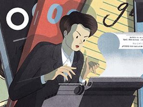 Google dedica un doodle alla nascita di Clare Hollingworth