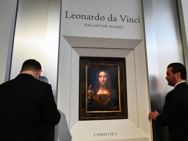 Leonardo, il «Salvator Mundi» all'asta per 100 milioni di dollariI 10 capolavori da record: guarda