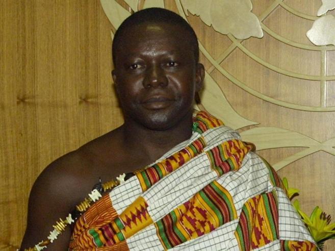 Il re africano e quella borsa piena di soldi data a una banca della City