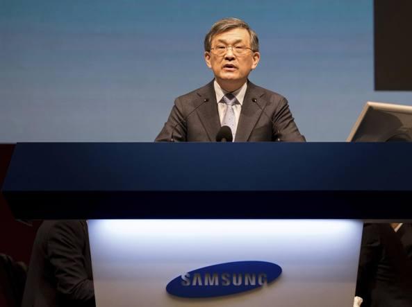 È crisi, via il CEO — Samsung Electronics