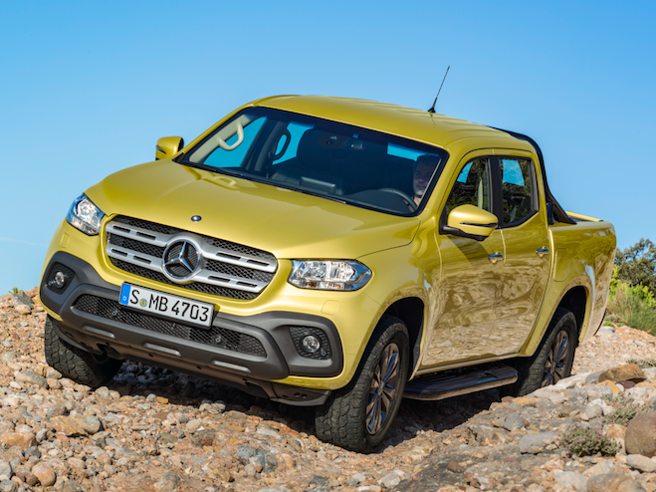 Scatta l'ora X di Mercedes: ecco il pick-up