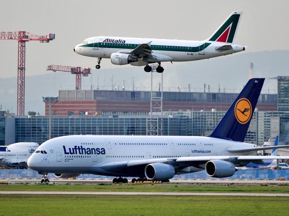 Lufthansa ha presentato un'offerta per Alitalia