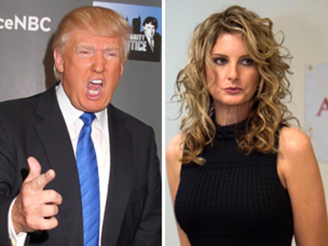 L' ex concorrente dello show tv accusa Trump |  «Io lo respingevo |  lui mi baciava»