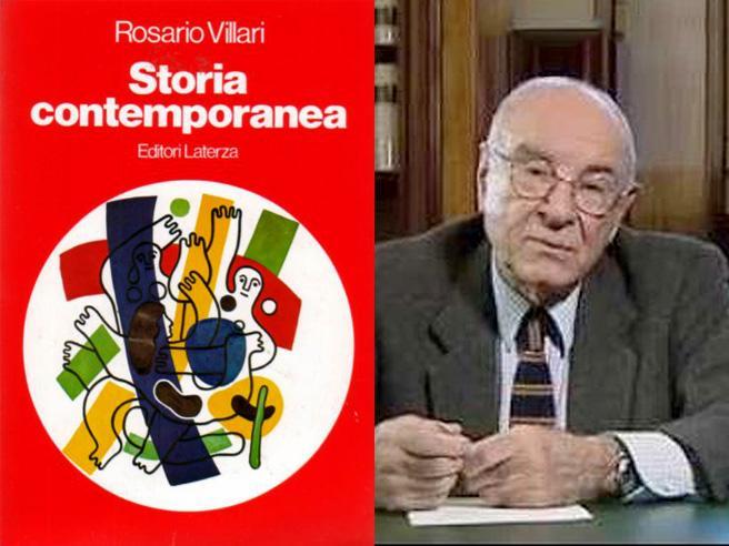 Morto lo storico Rosario VillariScrisse un famoso manuale per i licei