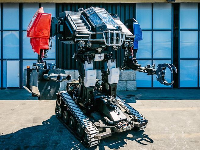 Le battaglie tra robot dei cartoni animati diventano