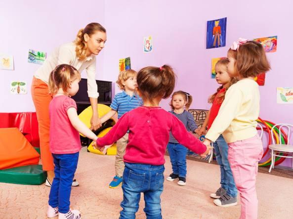 Bambini meno intelligenti se vanno al nido: lo studio