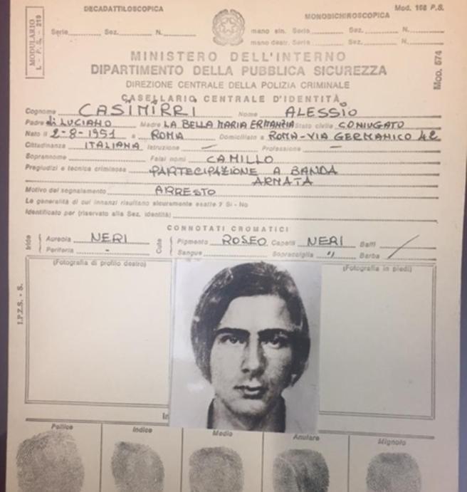 Il mistero dell'ultimo latitante del caso Moro: arrestatoe subito rilasciato 35 anni fa