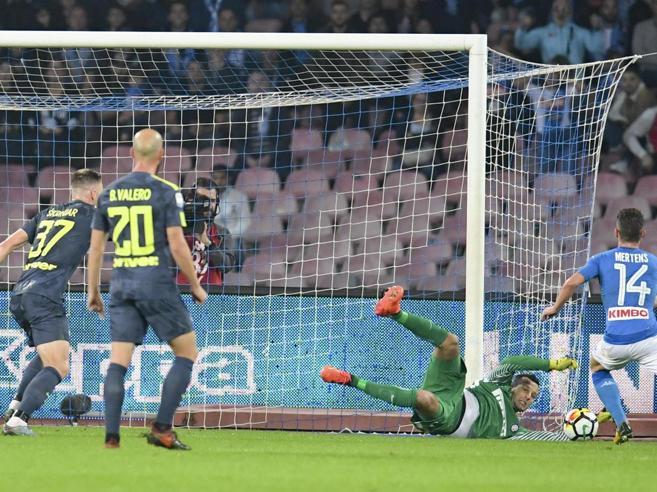 Napoli Inter 0 0, match  spettacolo: deciso Handanovic che  salva i nerazzurri      Video