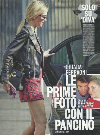 Chiara ferragni e fedez il figlio si chiamer leone e lei mostra la pancia - Diva futura su sky ...