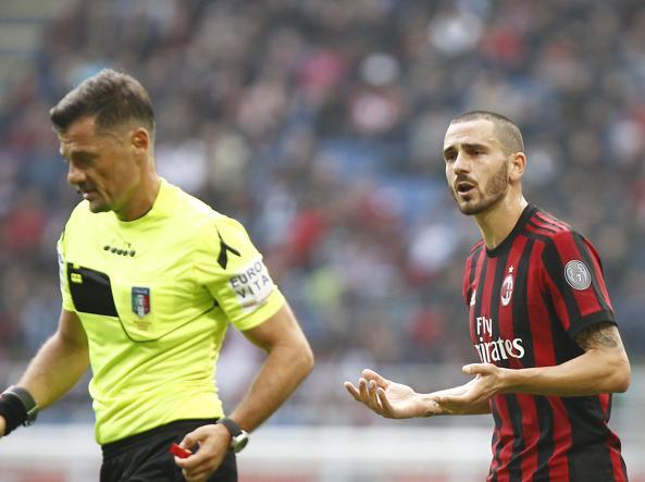 Bonucci salterà Chievo e Juve: