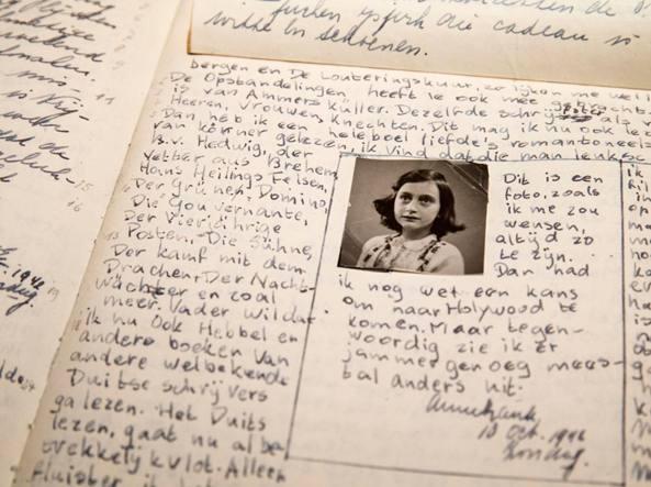 Fotomontaggio con Anna Frank: «Vergogna, siamo al paradosso»