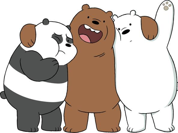 «i miei tre orsetti diversi danno una lezione a trump