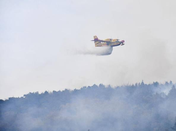 Incendi: bruciano il Piemonte e la Lombardia