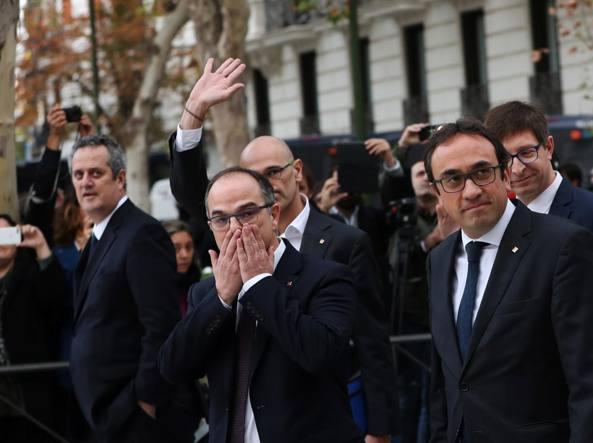 Catalogna: procura Madrid chiede carcere per tutto il Govern