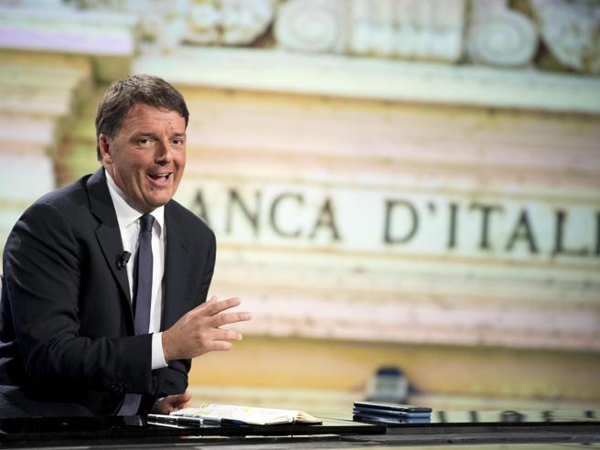 Renzi: «Duello tv con Di Maio? Ok a La7». E sulle banche: paghino anche i manager