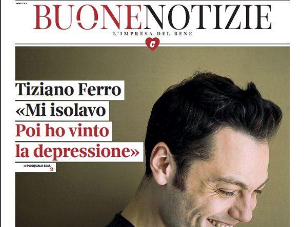 Tiziano Ferro confessa: