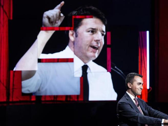 Di Maio annulla  il confronto tv con Renzi: «Pd defunto».   La replica: «Scappi?» video