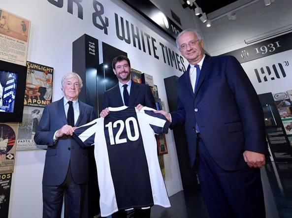 Juventus, la mostra per i 120 anni Elkann: