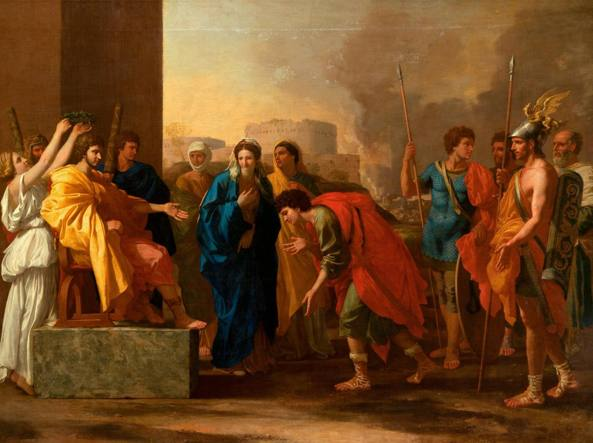 S'intitola «La clemenza di Scipione» (1640) questo dipinto dell'artista francese Nicolas Poussin (1594-1665) conservato nel museo Puškin di Mosca