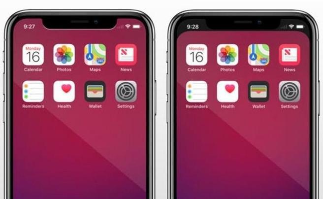 iPhone X, non vi piace la penisola nera in alto sullo schermo? C'è un'app che la cancella