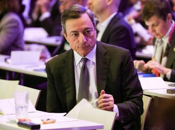 Europa - Draghi:in corso solida ripresa Eurozona