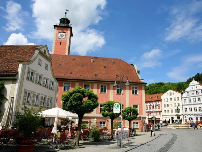 La città senza disoccupazioneè in Germania: Eichstätt