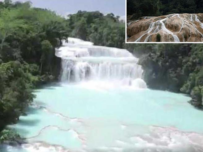 I contadini salvano la cascata di Agua Azul rimasta senza acqua