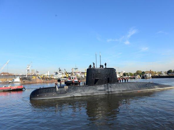 Risultati immagini per foto del sottomarino argentino scomparso