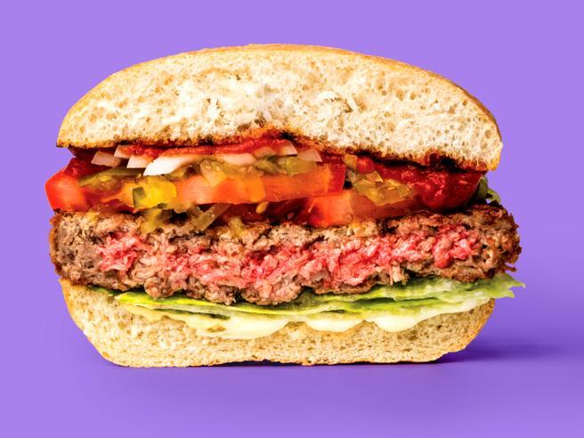 L'hamburger hi-tech di carne (che in realtà non ha la carne)
