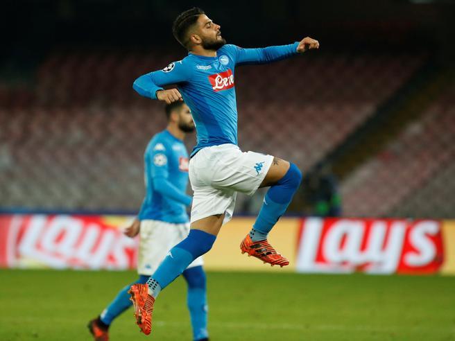 Napoli Shakthar 3 0 Insigne illumina il San Paolo,qualificazione ancora aperta