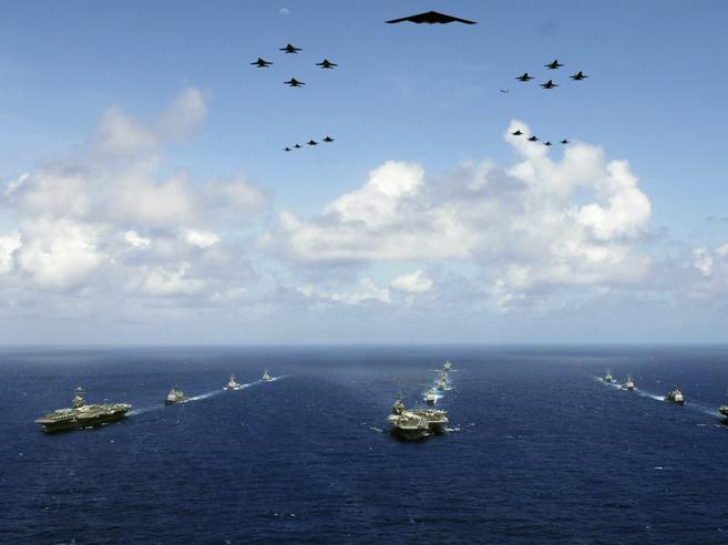 Aereo militare Usa precipita nel Pacifico, rientrava verso la portaerei Reagan