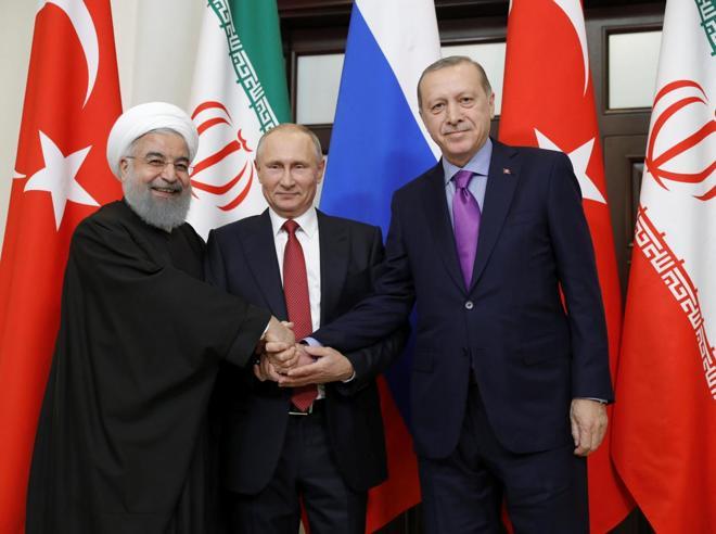 La «pace» di Putin per la Siria Ok di Trump,  impegni di Assad