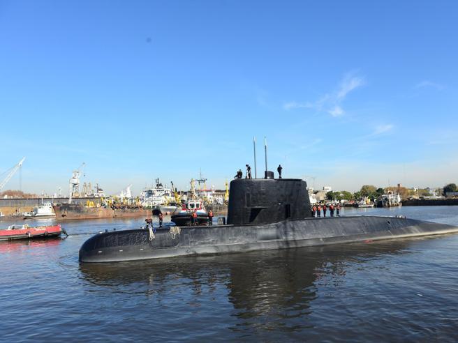 Sottomarino disperso,  dopo l'ultimo contatto anomalia acustica