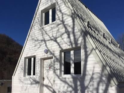 Si monta ed sostenibile ecco m a di la casa pieghevole dell 39 architetto italiano renato vidal - Madi casa pieghevole ...