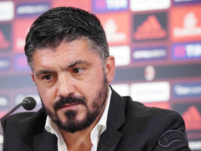 Milan, Gattuso e i nuovi slogan in conferenza: lo show di Ringhio