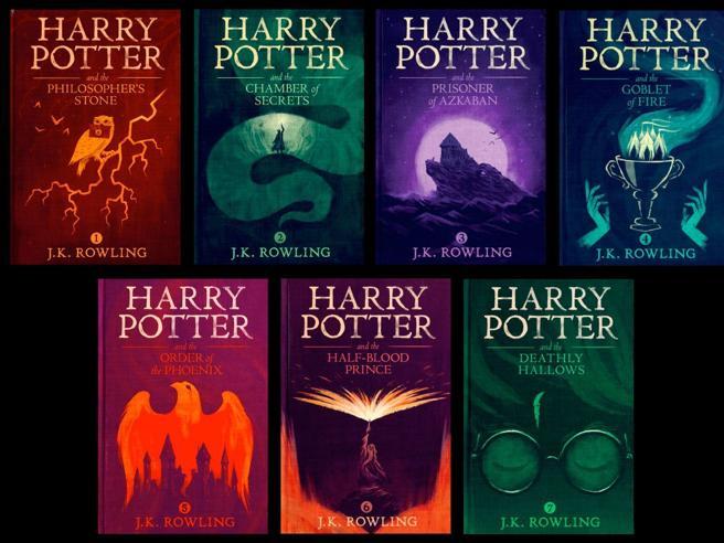 Harry Potter, spuntano in Rete le copertine inedite del designer Olly Moss