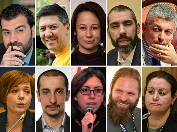 I 30 parlamentari di m5s pronti al passo indietro for Assistenti parlamentari m5s